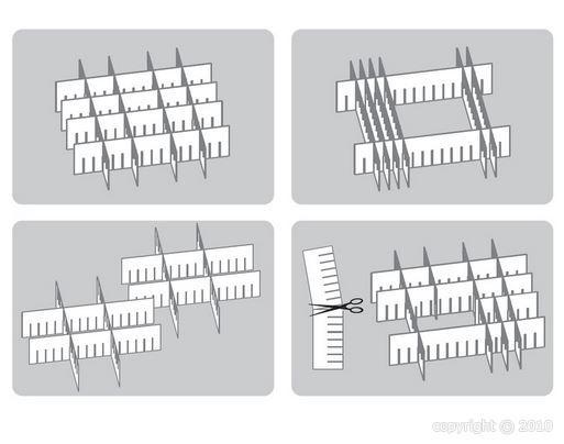 s parateur modulable pour tiroir bo0051 coffres pinces. Black Bedroom Furniture Sets. Home Design Ideas