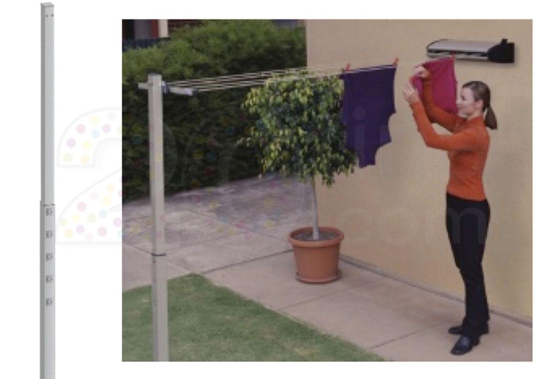 poteau pour tendoir r tractable slimy et extensy ex012. Black Bedroom Furniture Sets. Home Design Ideas