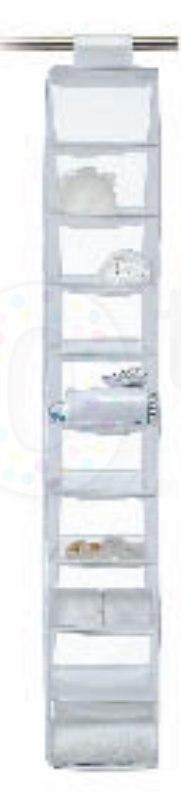 etag re de rangement suspendre 5 ou 10 compartiments bo0052 pinces linge tendoirs. Black Bedroom Furniture Sets. Home Design Ideas