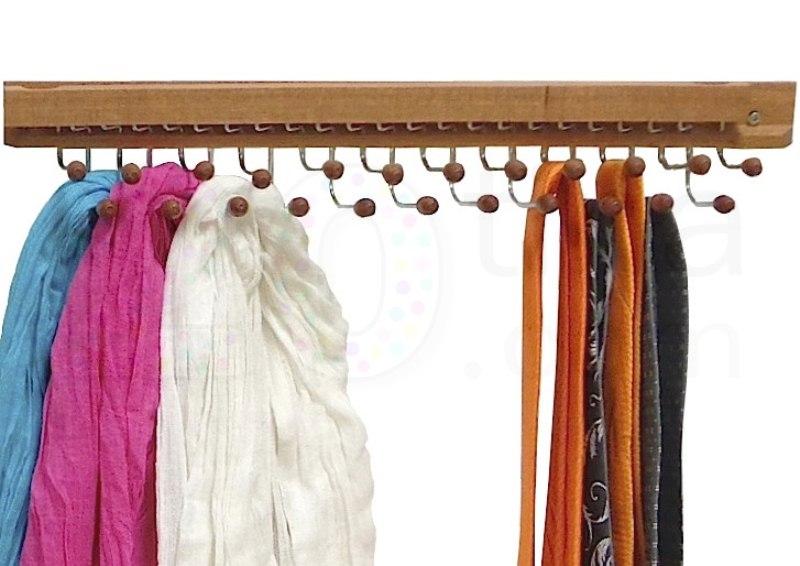 Portecravates Bois Crochets PT Pinces à Linge étendoirs - Porte cravate